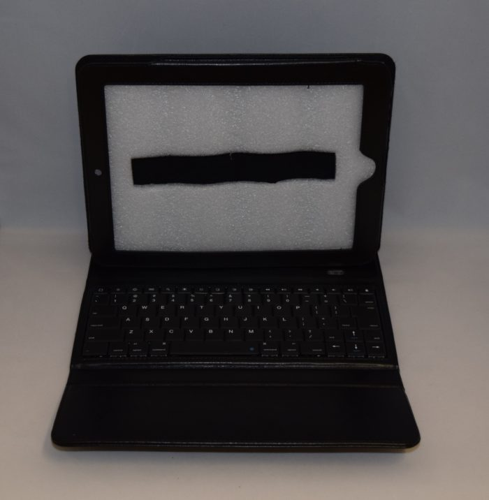 Ipad Bluetooth Keyboard Case Leder