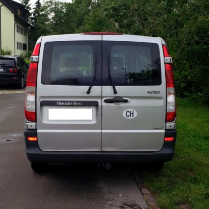 Mercedes Vito 115 Diesel zum Mieten in Bülach 150.-/Tag