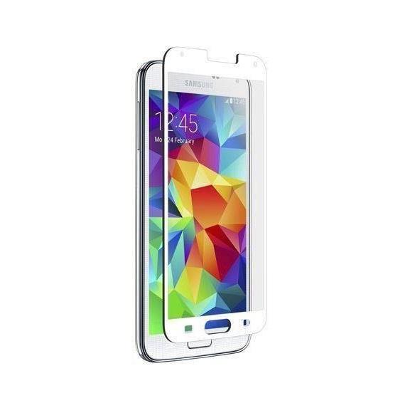 Znitro Nitro Glass Schutzglass für Samsung Galaxy S 5 in weiss